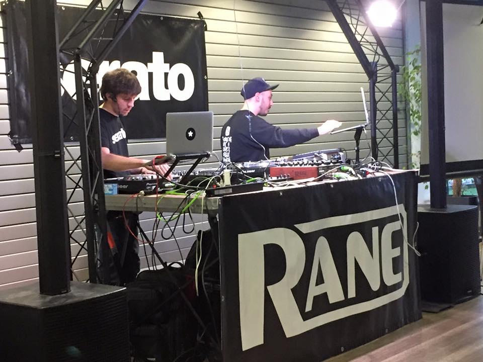 Serato DJ Schulung im Music Store Köln.