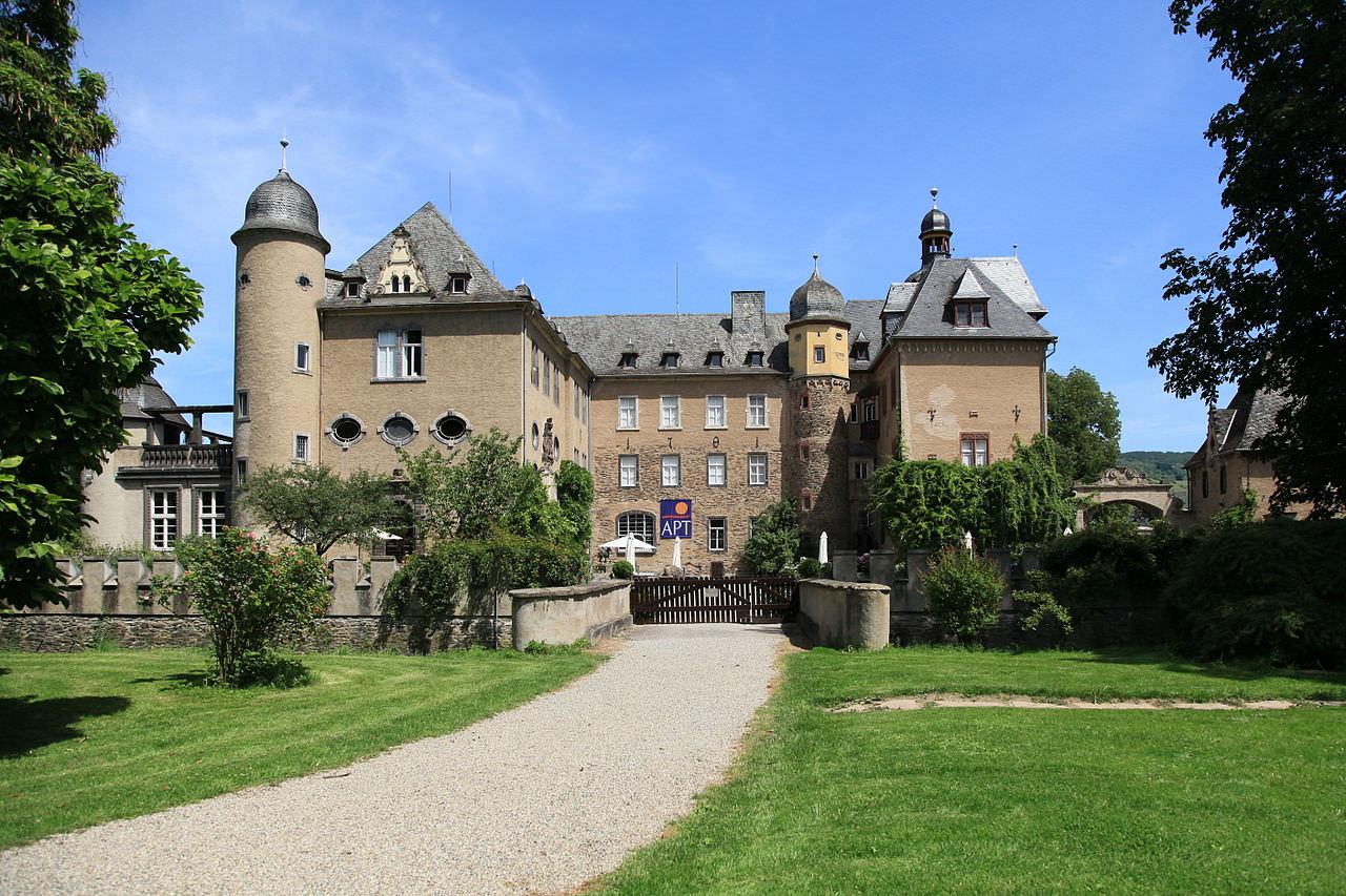 Schloss Burg Namedy, Andernach