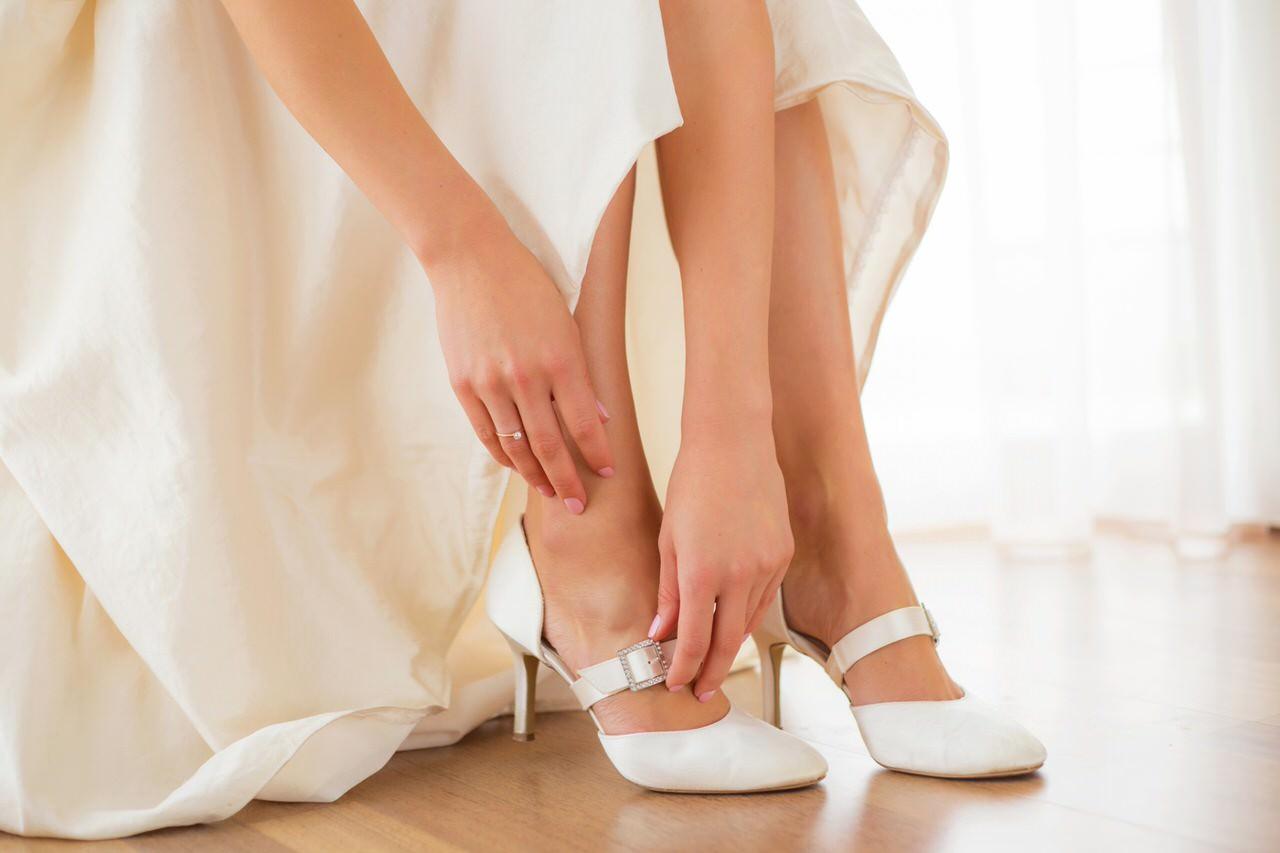 Schöne Schuhe zur Hochzeit