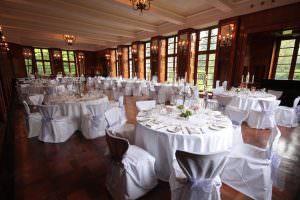 Der Spiegelsaal auf Burg Namedy. Foto: Burg Namedy