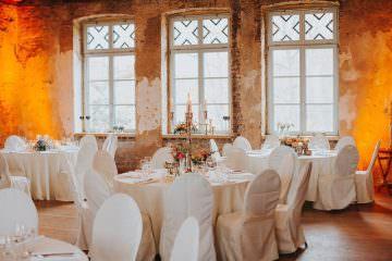 Hochzeitsvorbereitung auf Rittergut Orr