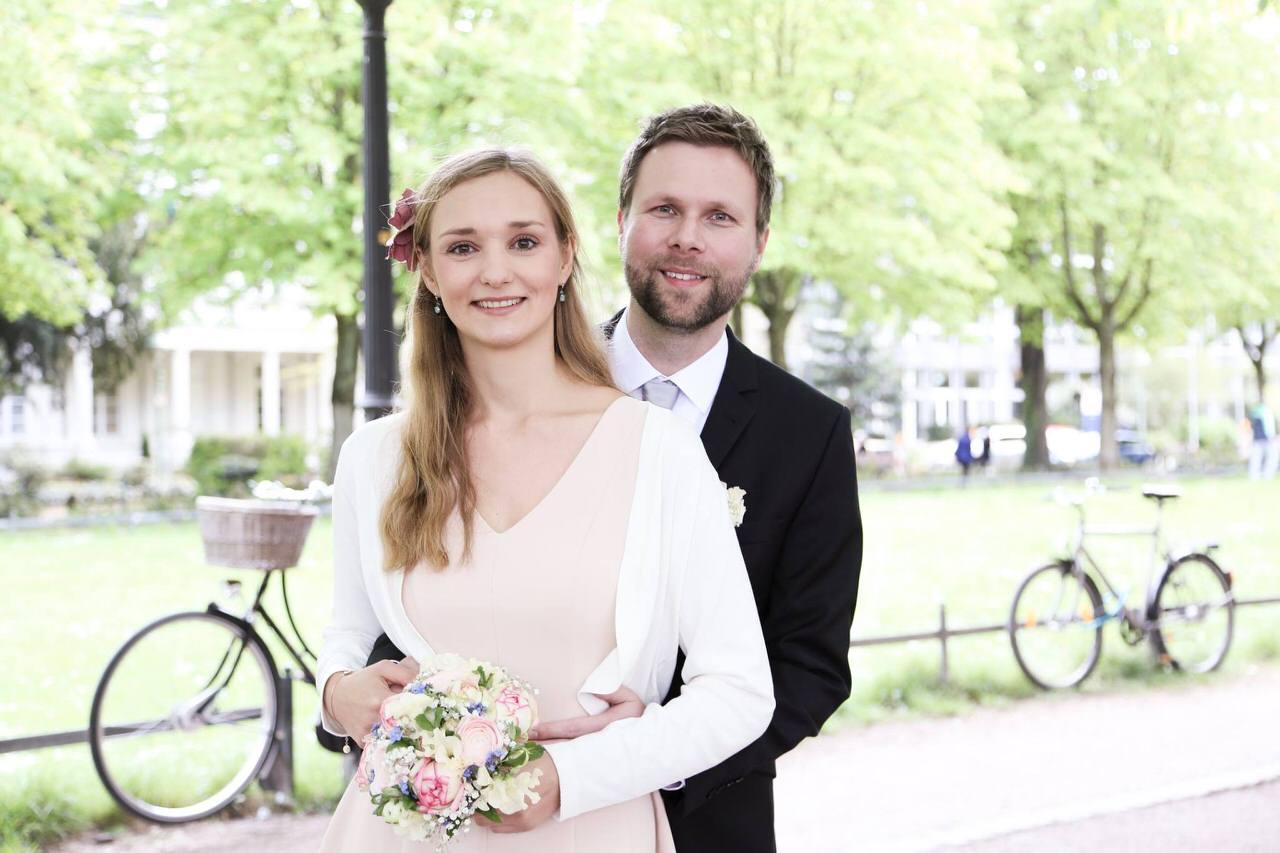 Hochzeit in Bonn-Poppelsdorf. Foto: Pictorero