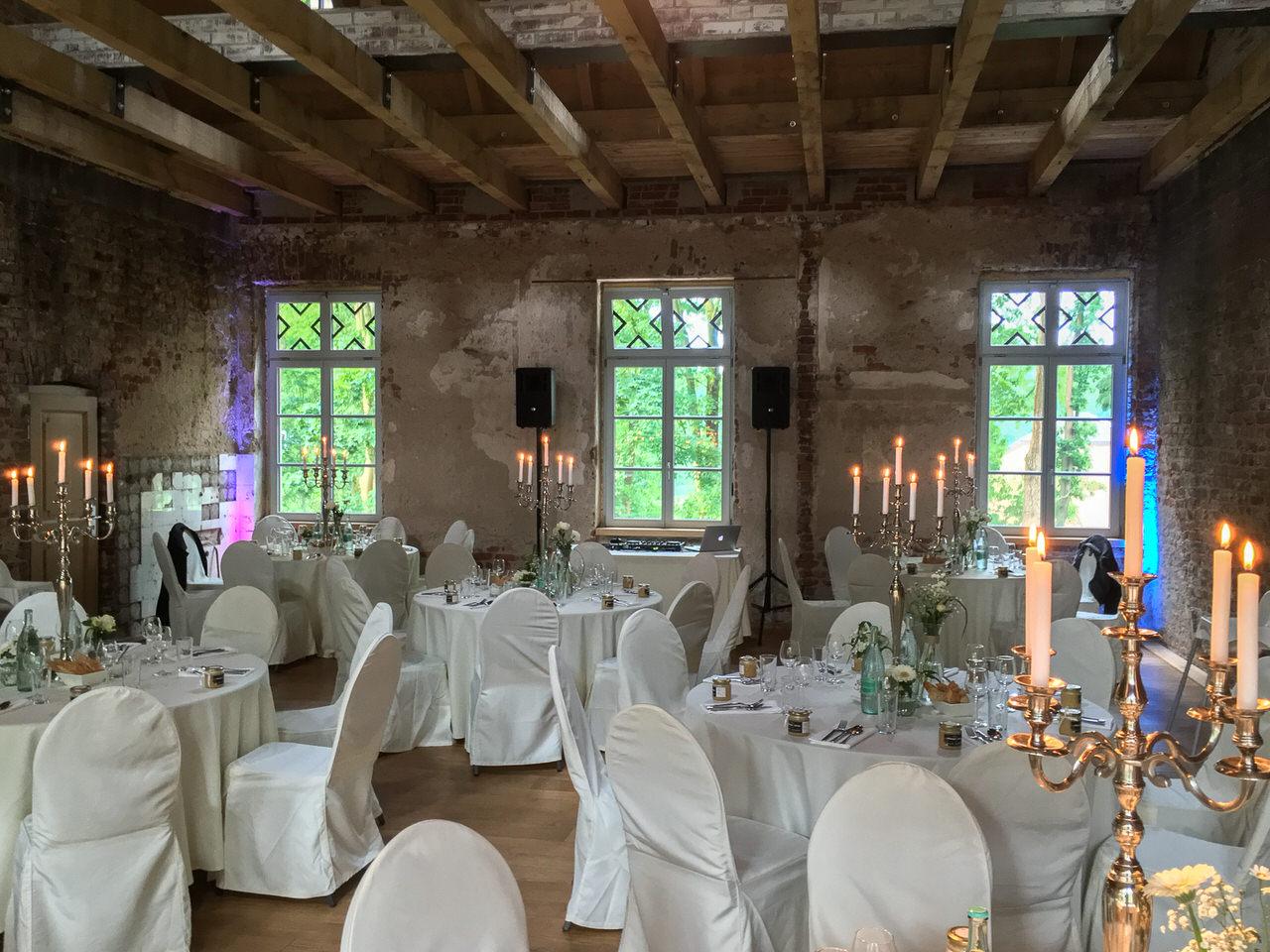 Der Festsaal im Rittergut Orr. Foto: Andreas Paul