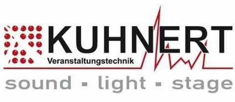 Kuhnert Veranstaltungstechnik, Köln. Logo: Frederik Kuhnert