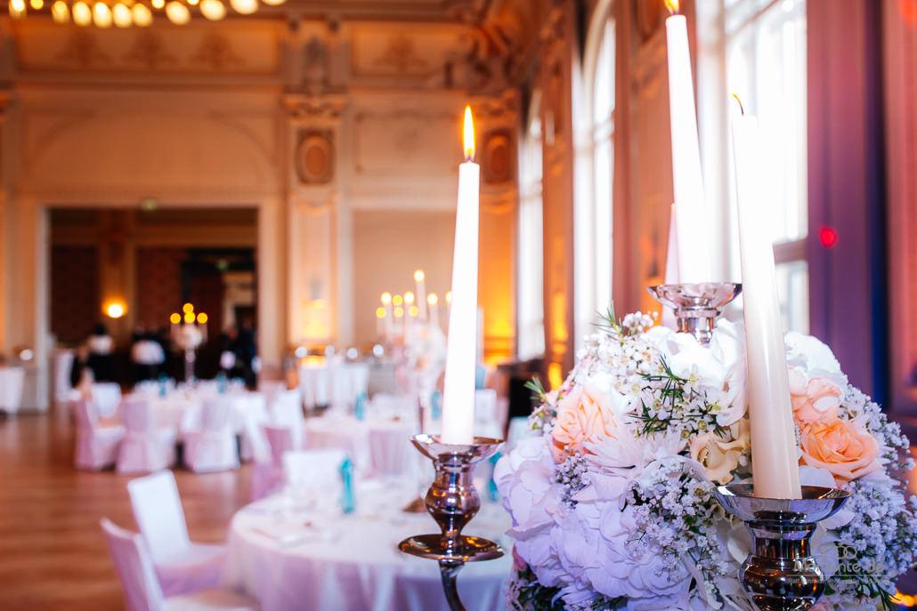 Hochzeitstische in der historischen Stadthalle Wuppertal