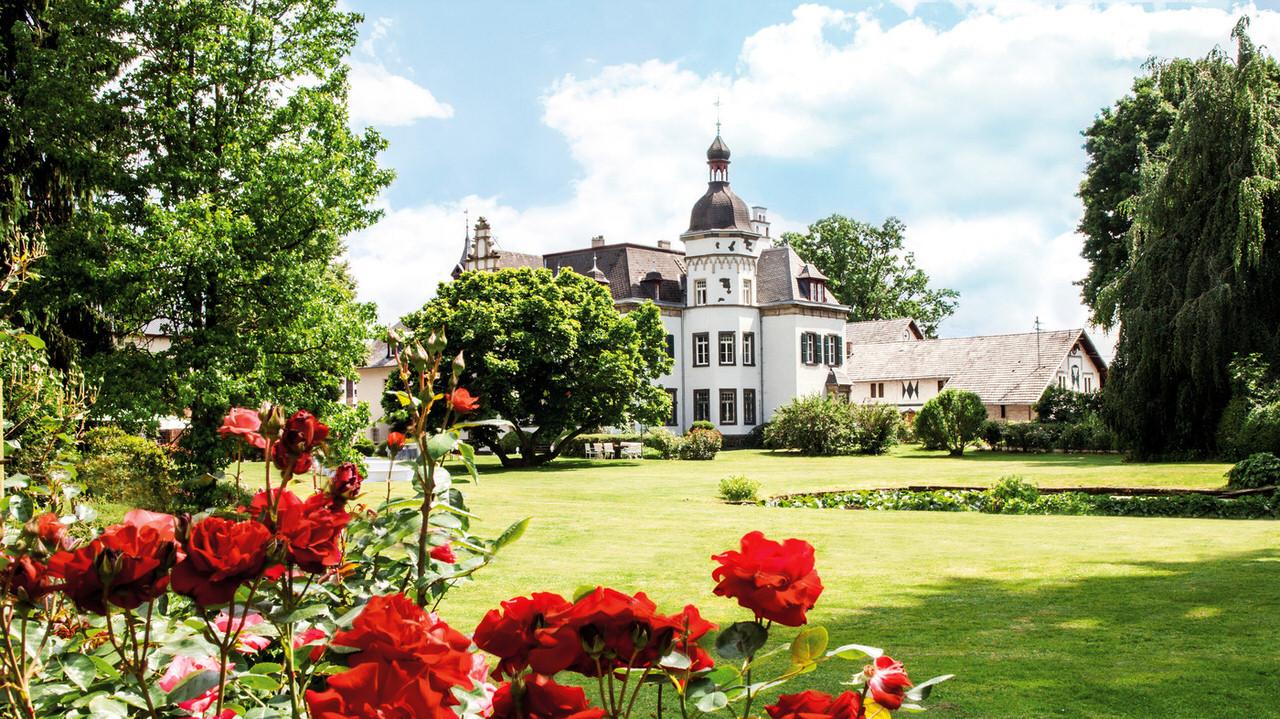 Gut Nettehammer mit seinem wunderschönen Park. Foto: Laura von Minckwitz