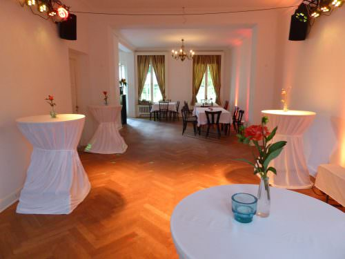 Innenansicht der Villa Brandström