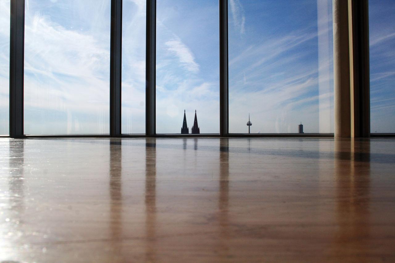 KölnSky bietet atemberaubende Blicke auf die Stadt am Rhein. Foto: KölnSky