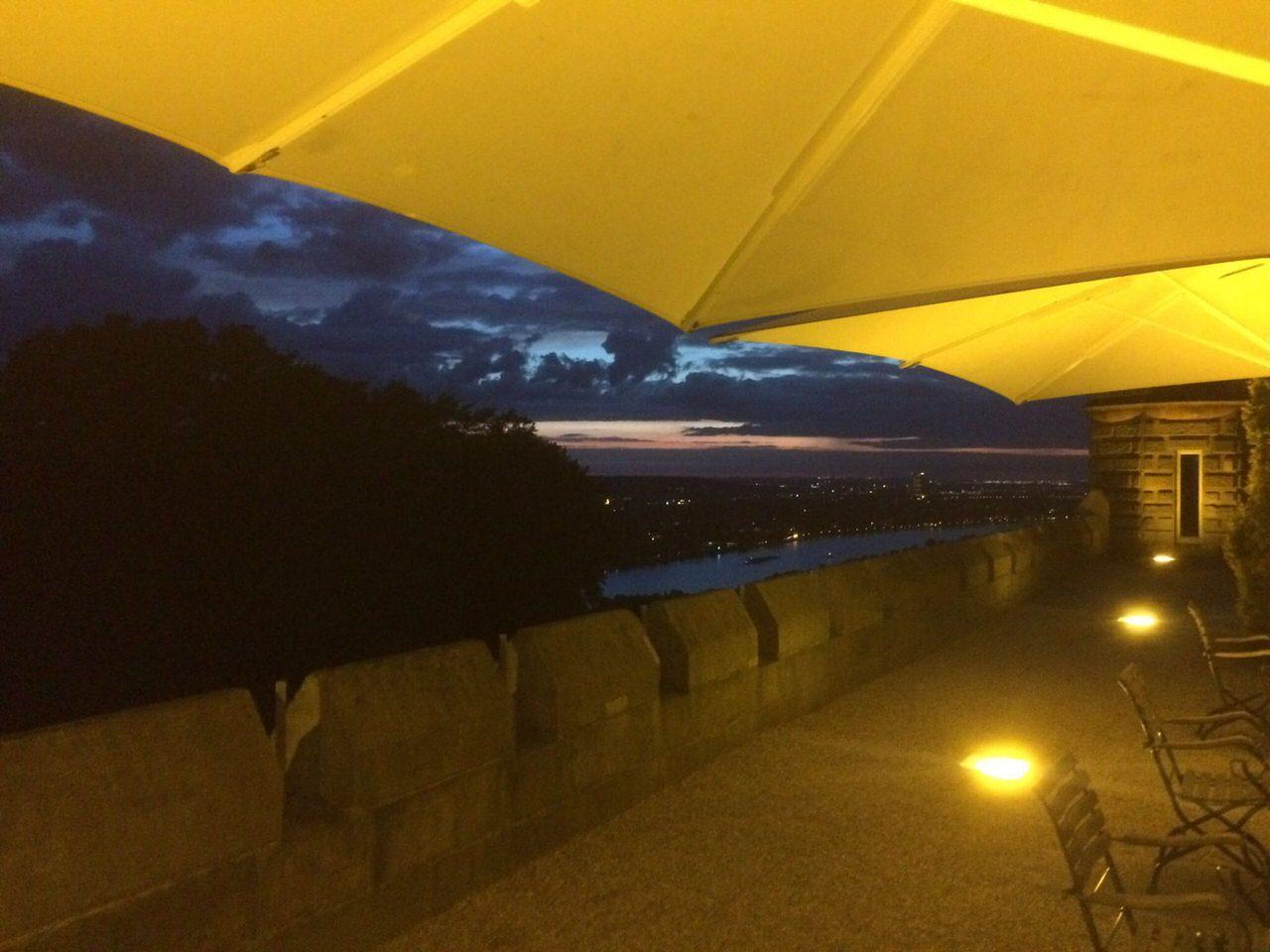Abendhimmel über Bonn