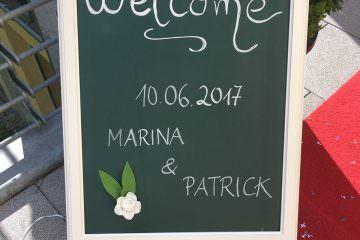 Hochzeit von Marina & Patrick auf Gut Landscheid