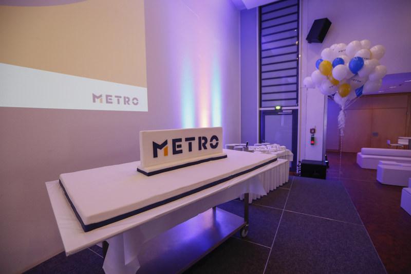 Torte für die Neue Metro