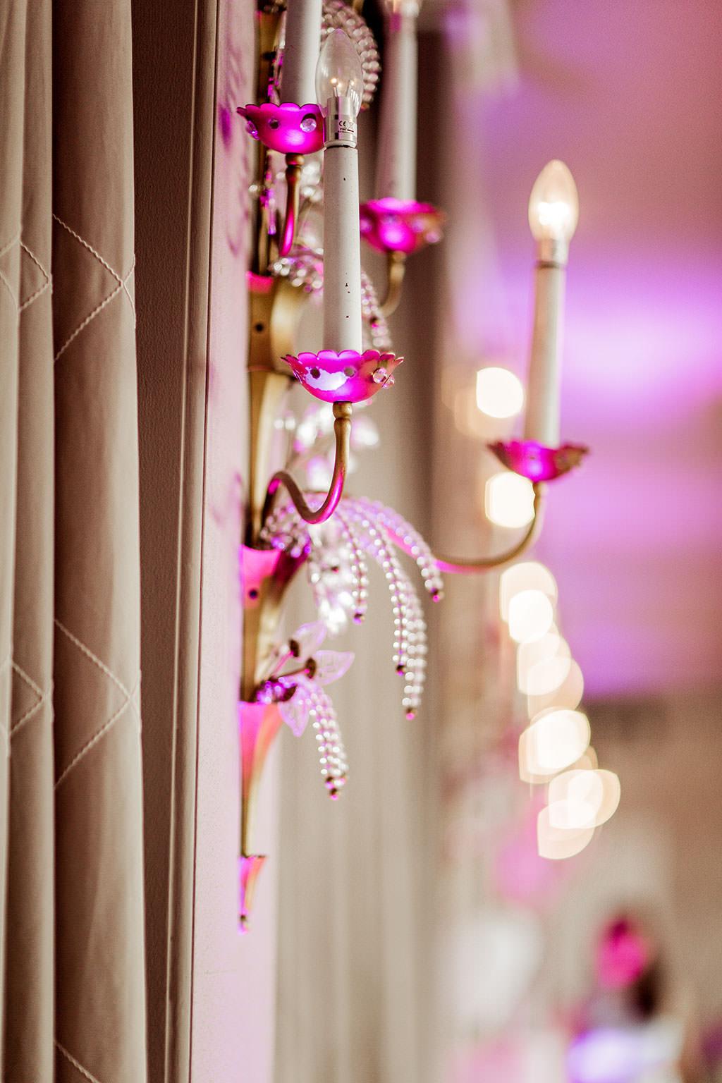Wandlampe im Rheinsaal