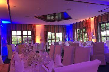 Tolle Hochzeitsparty im Golf Course Restaurant Bonn auf Gut Grossenbusch
