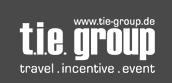 T.I.E. Group. Logo: T.I.E. Group