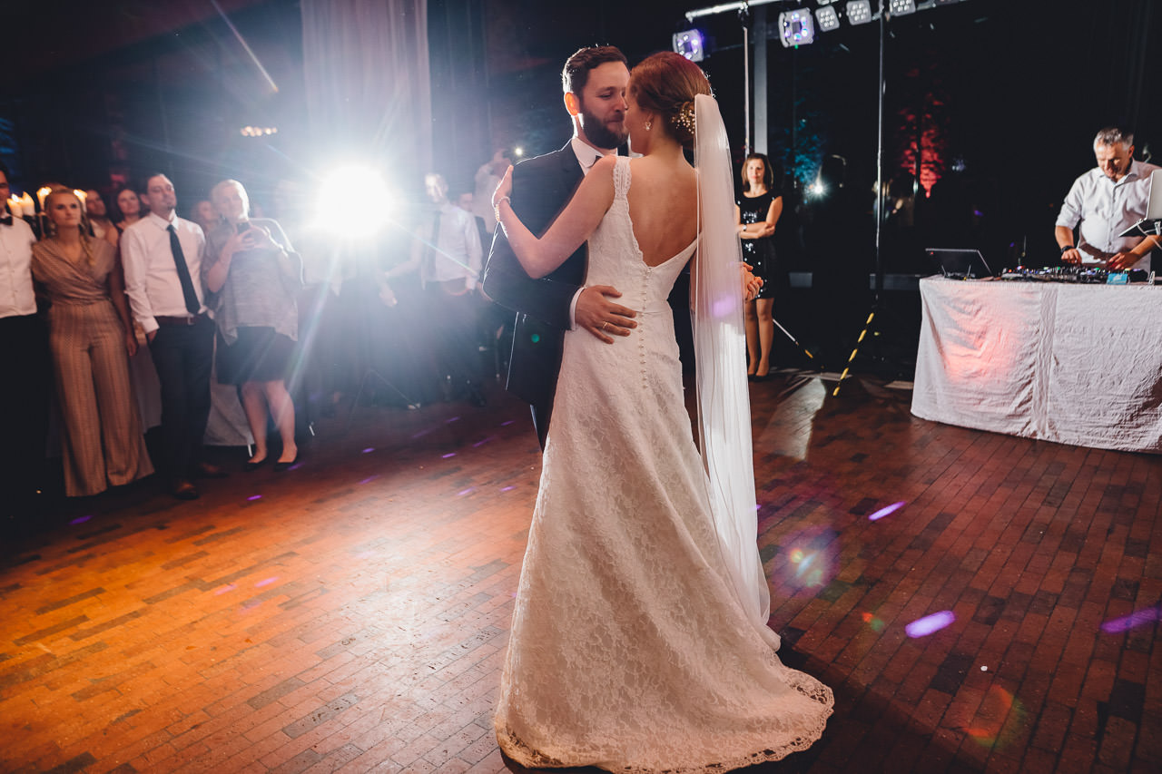 Christine & Daniel eröffnen den Tanz