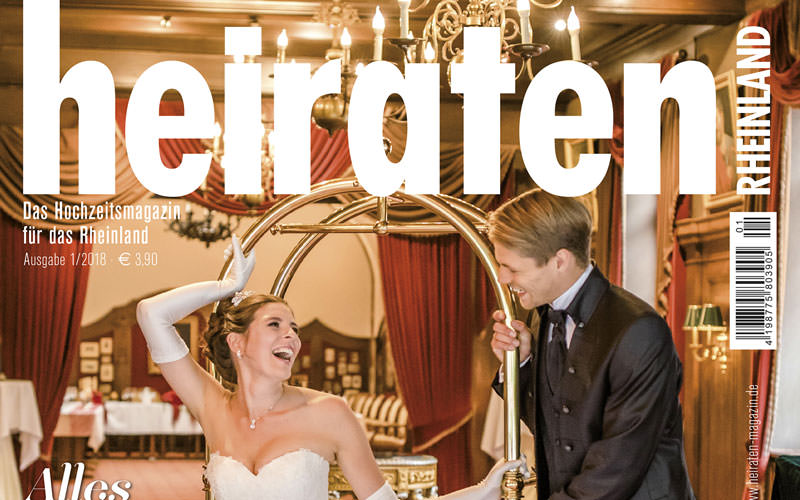 Titelseite vom heiraten MAGAZIN