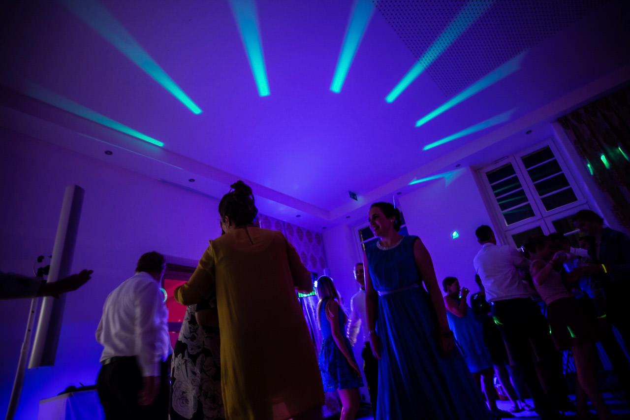 Gäste auf der Tanzfläche