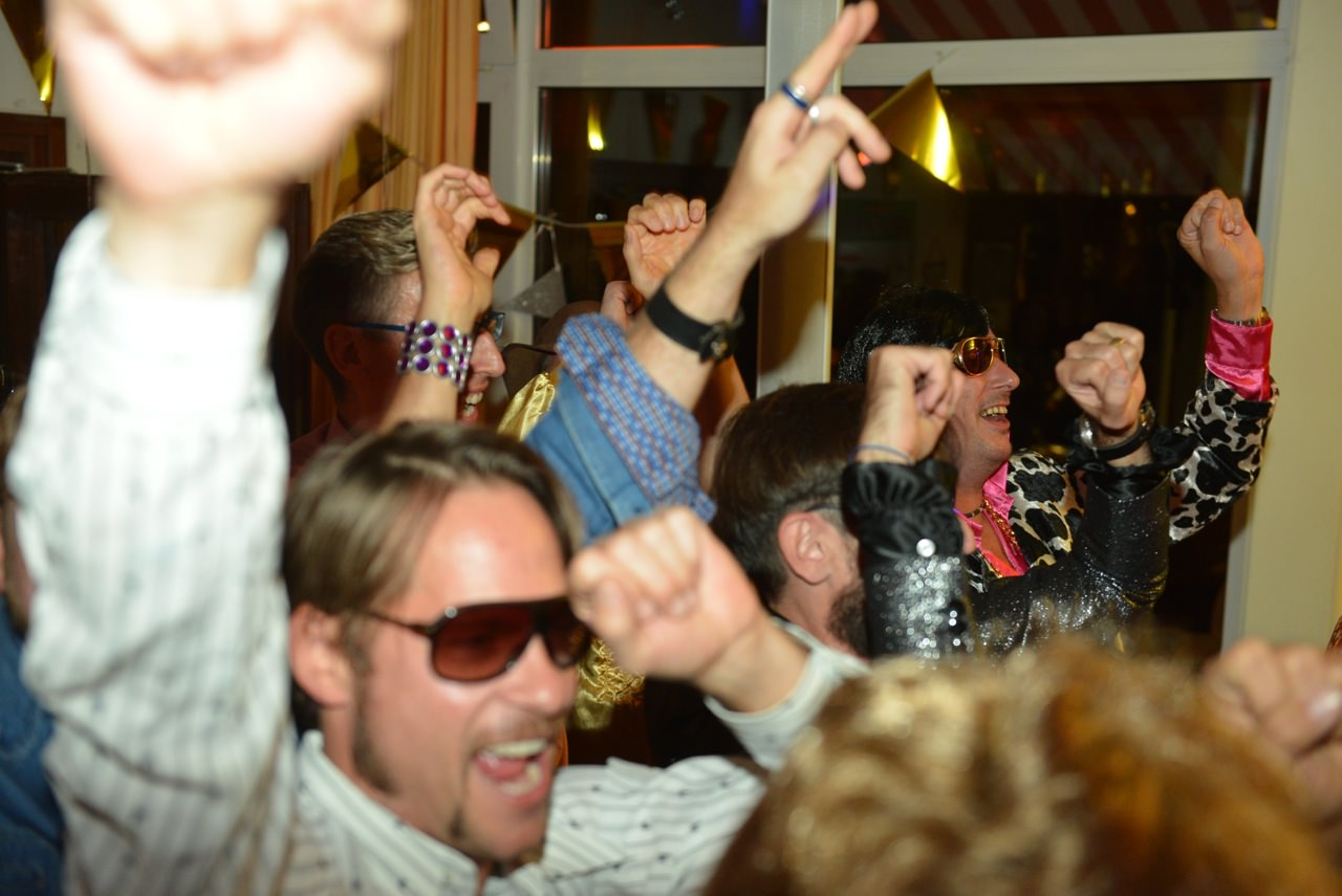 Party im Tennisclub Rot-Weiss Düsseldorf