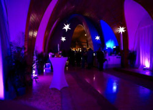 Nicoles runder Geburtstag in der Kapelle des Clarissen-Kapuzinerinnen Klosters