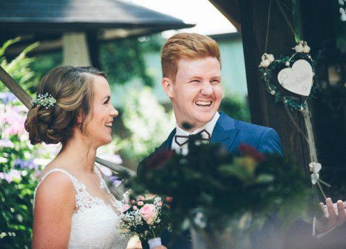 Miriam & Tim feiern ihre Hochzeit auf Gut Hahn