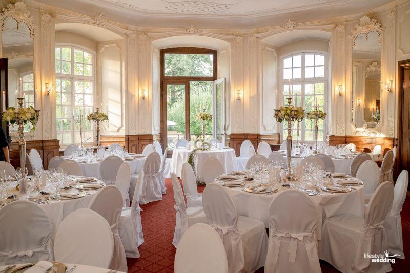 Der Spiegelsaal auf Schloss Eicherhof